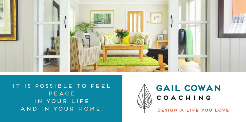 Free Peaceful Home Session - Learn More - Gail Cowan Coaching
